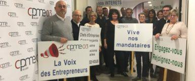 Communiqué de Presse – La CPME Allier a élu son nouveau président